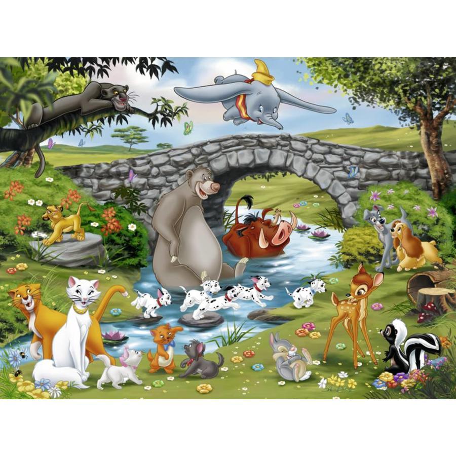 La grande famille Disney - 100 pièces XXL-1