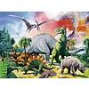Ravensburger Tussen de dinosauriërs - 100 stukjes XXL