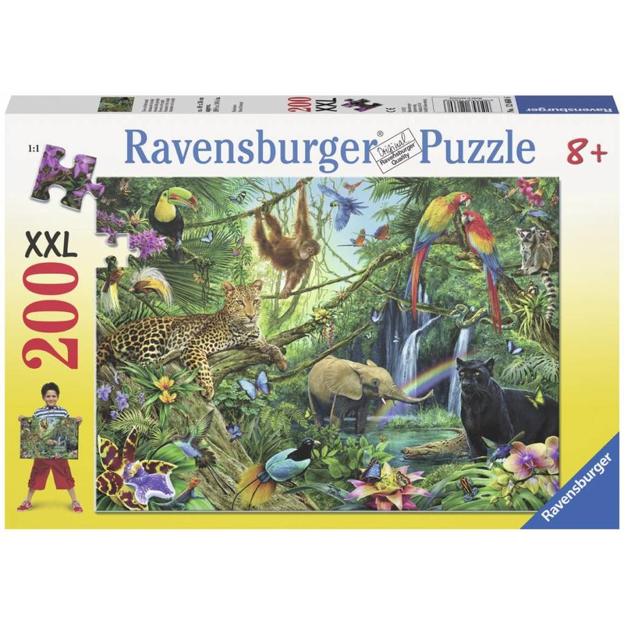 Les animaux dans la jungle - 200 pièces XXL-2