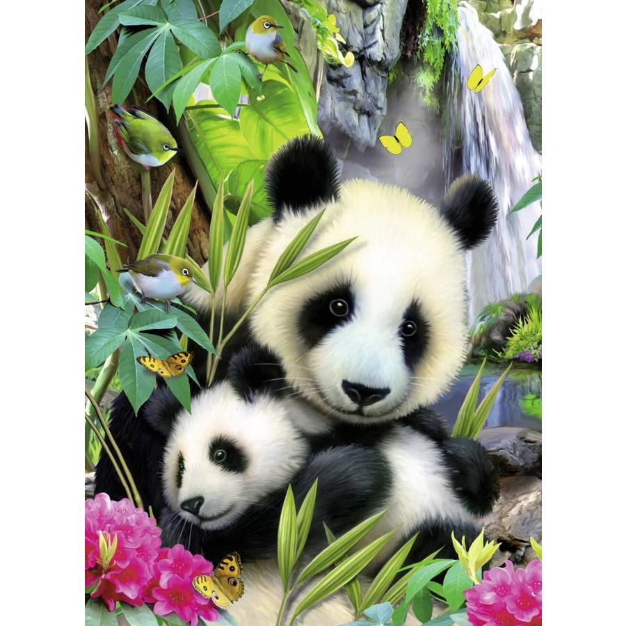 Lieve panda - 300 stukjes XXL-1