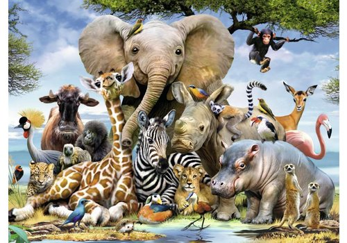 African friends - 300 pieces XXL