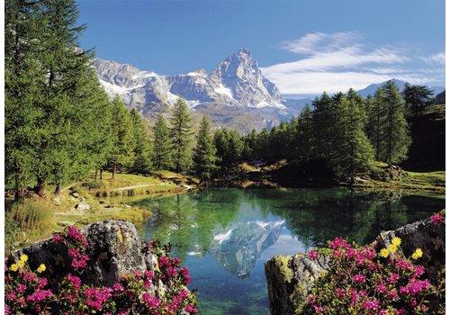 Bergmeer met Matterhorn - 1500 stukjes