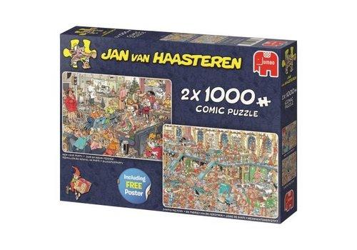 Fijne feestdagen - JvH - 2 x 1000 stukjes