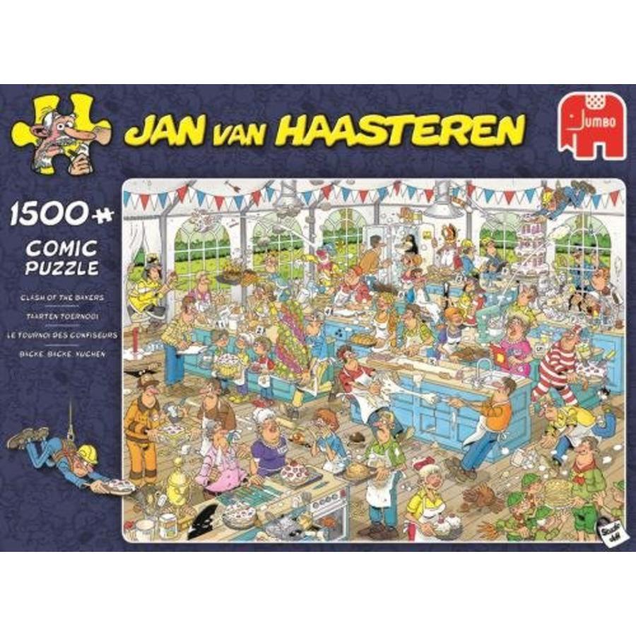 Taartentoernooi - JvH - puzzel van 1500 stukjes-3