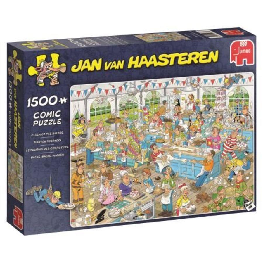 Taartentoernooi - JvH - puzzel van 1500 stukjes-4