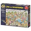 Jumbo Taartentoernooi - JvH - puzzel van 1500 stukjes