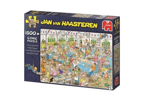 Clash of Bakers - JvH - 1500 pieces