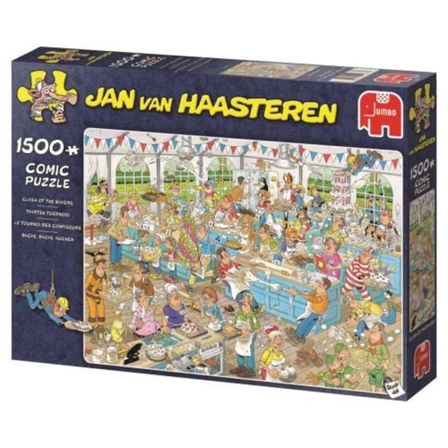 Taartentoernooi - JvH - puzzel van 1500 stukjes-1