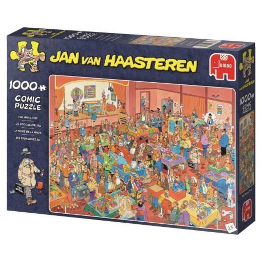 Goochelbeurs - JvH  - puzzel van 1000 stukjes-1