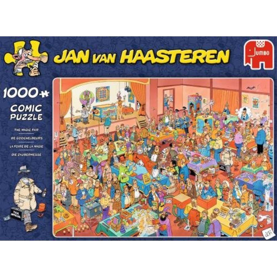 Goochelbeurs - JvH  - puzzel van 1000 stukjes-3