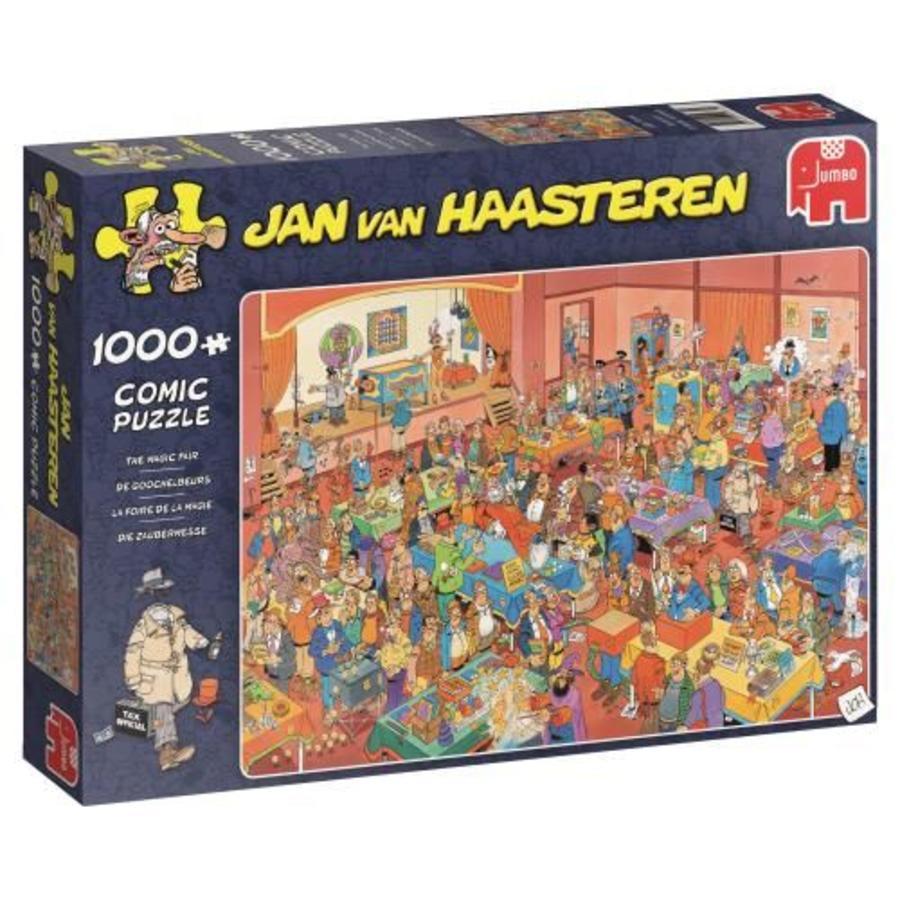 Goochelbeurs - JvH  - puzzel van 1000 stukjes-4