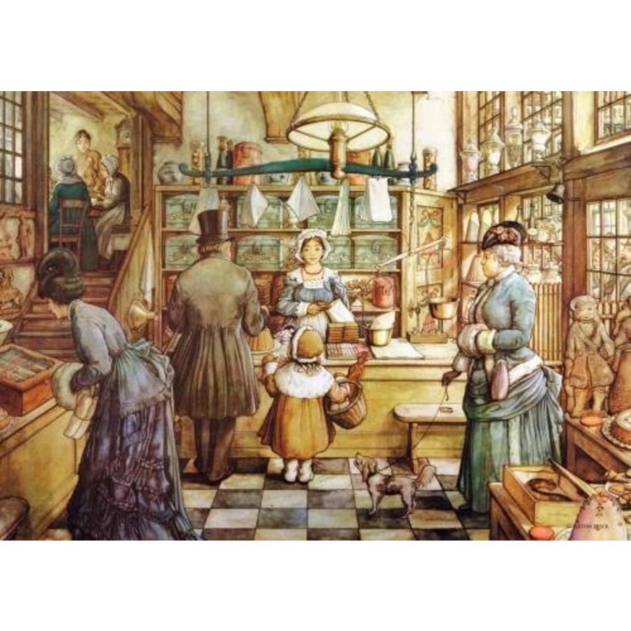 The Bakery - Anton Pieck - jigsaw puzzle of 200 XL pieces-2