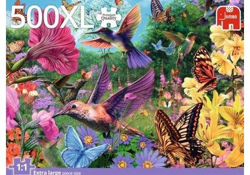 Hummingbird Garden - 500 XL pieces