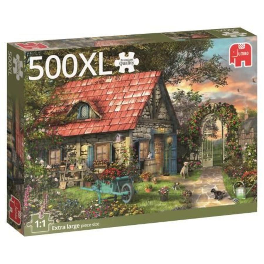Het tuinhuis - puzzel van 500 XL stukjes-3