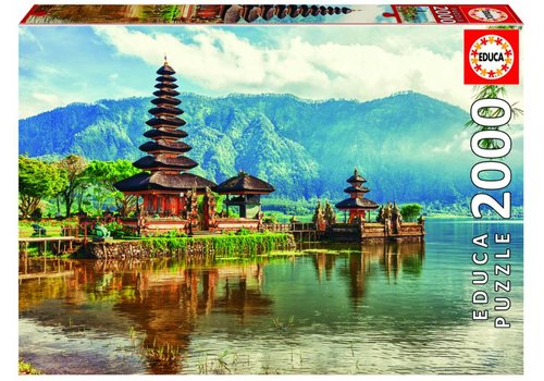 Temple Ulun Danu in Bali - 2000 pieces