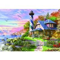 thumb-Phare à Rock Bay - puzzle de 4000 pièces-2