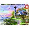 Educa Phare à Rock Bay - puzzle de 4000 pièces