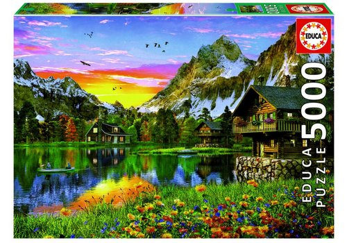 Educa Lac Alpin - 5000 pièces