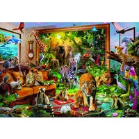 thumb-Entering the room - jigsaw puzzle of 6000 pieces-2