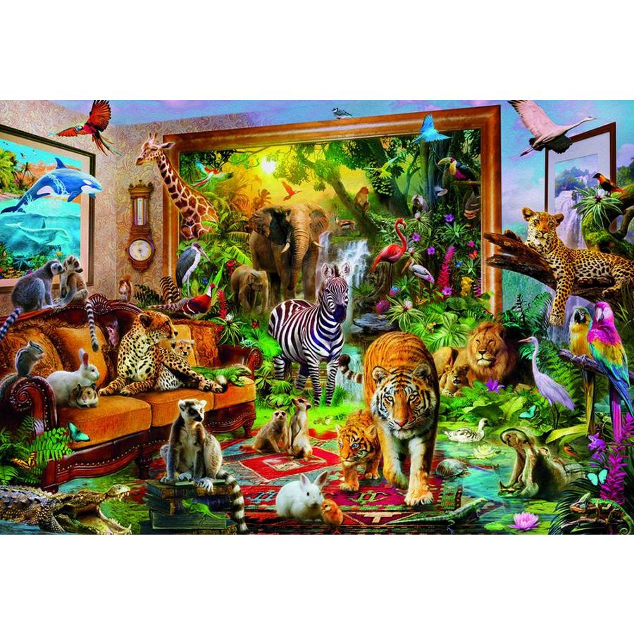 Entering the room - jigsaw puzzle of 6000 pieces-2
