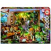 Educa Entering the room - jigsaw puzzle of 6000 pieces