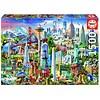 Educa Symboles d'Amérique du Nord - puzzle de 1500 pièces