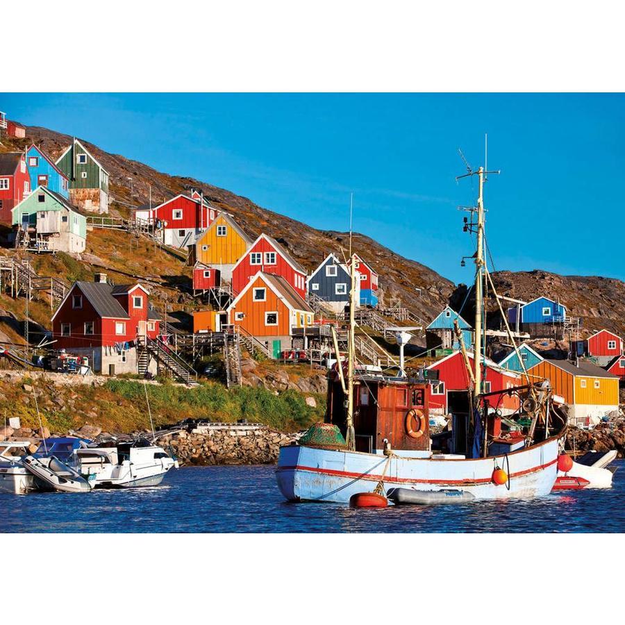 Noorse huisjes - legpuzzel van 1000 stukjes-2