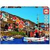 Educa Maisons Nordiques - puzzle de 1000 pièces
