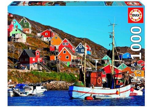 Noorse huisjes - 1000 stukjes