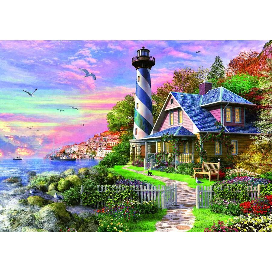 Phare à Rock Bay - puzzle de 1000 pièces-2
