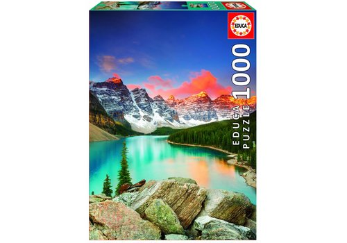 Mountain lake in Canada - 1000 pieces