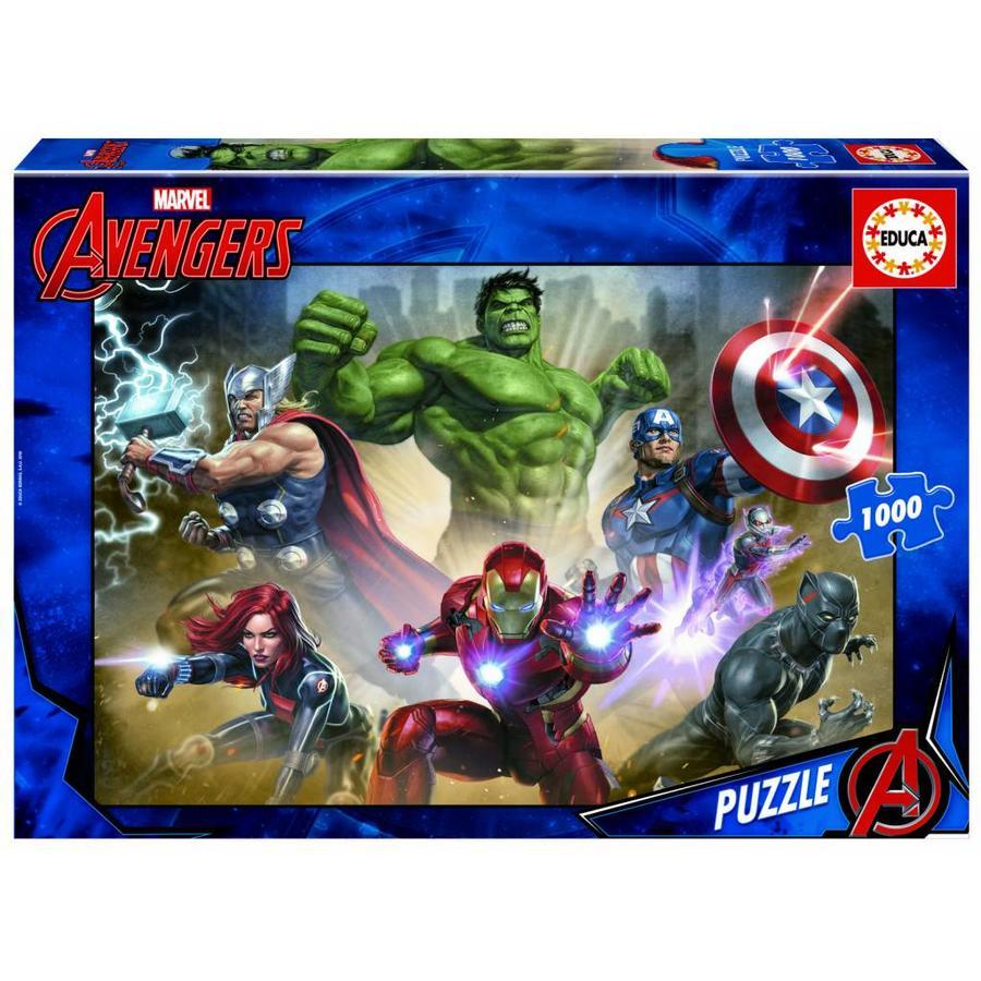 Avengers - legpuzzel van 1000 stukjes-1