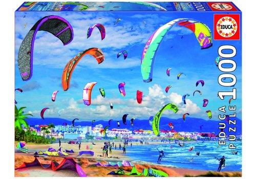 Kitesurfing - 1000 pieces