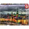 Educa Zicht op Stockholm in Zweden - legpuzzel van 1000 stukjes