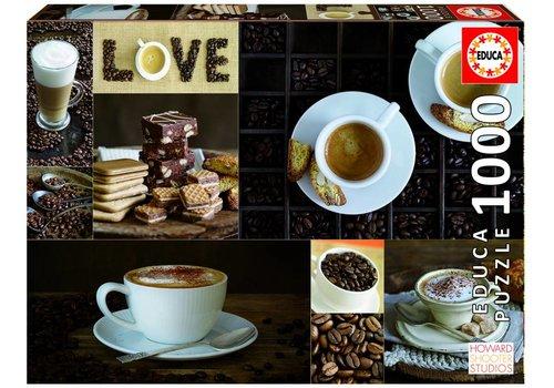 Koffie - 1000 stukjes
