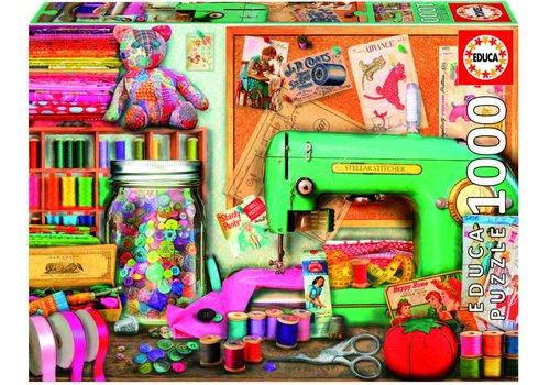 Het naaihoekje - 1000 stukjes