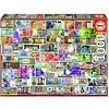 Educa Billets du monde entier - puzzle de 1000 pièces