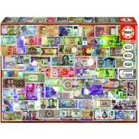 thumb-Bankbiljetten van de wereld - legpuzzel van 1000 stukjes-1