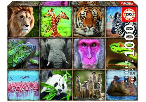 Wilde dieren - 1000 stukjes