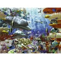 thumb-Leven onder water - 3000 stukjes-1