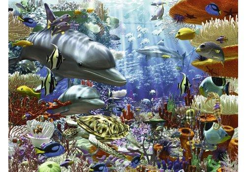 Leven onder water - 3000 stukjes