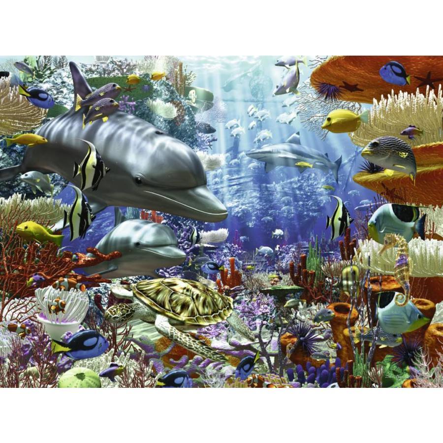 Leven onder water - 3000 stukjes-1