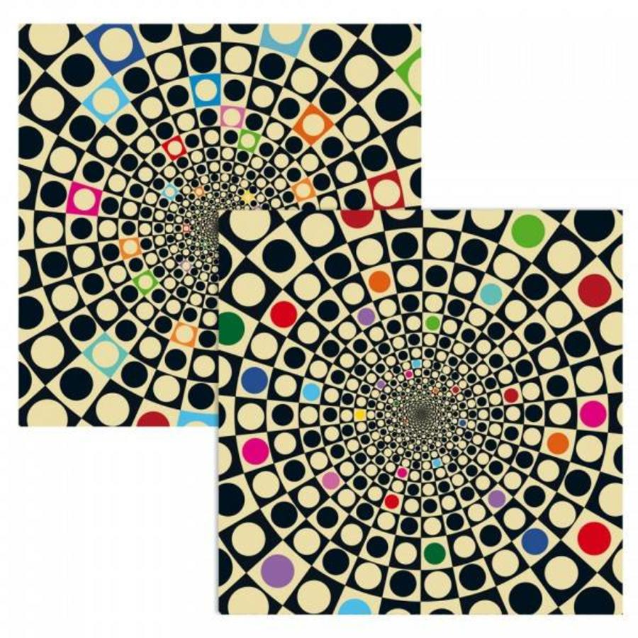 Puzzel Double Q-Fun - Dubbelzijdige puzzel in Hout - 123 stukjes-3
