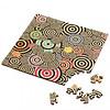 Curiosi Puzzel Double Q-Mad - Dubbelzijdige puzzel in Hout - 123 stukjes
