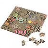 Curiosi Puzzle Double Q-Mad - Double-sided Jigsawpuzzle Wood - 123 pieces