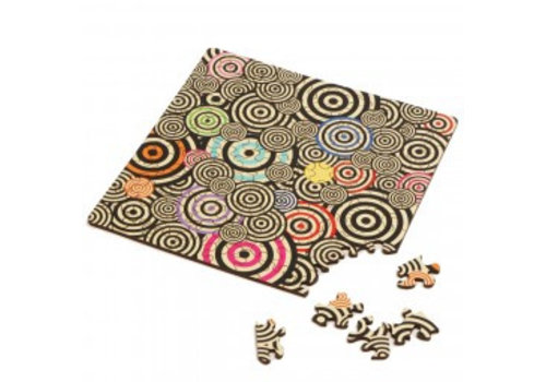 Double-sided Jigsawpuzzle Wood - Q-Mad - 123 pieces