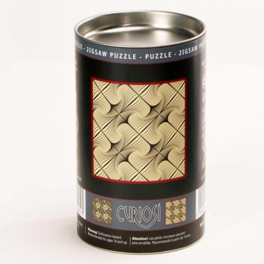 Puzzle Double Q-Glitter - Puzzle Recto-Verso en Bois - 123 pièces-2