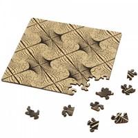 thumb-Puzzle Double Q-Glitter - Puzzle Recto-Verso en Bois - 123 pièces-3