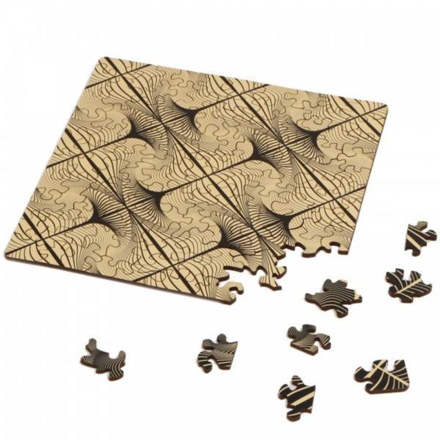 Puzzle Double Q-Glitter - Puzzle Recto-Verso en Bois - 123 pièces-3