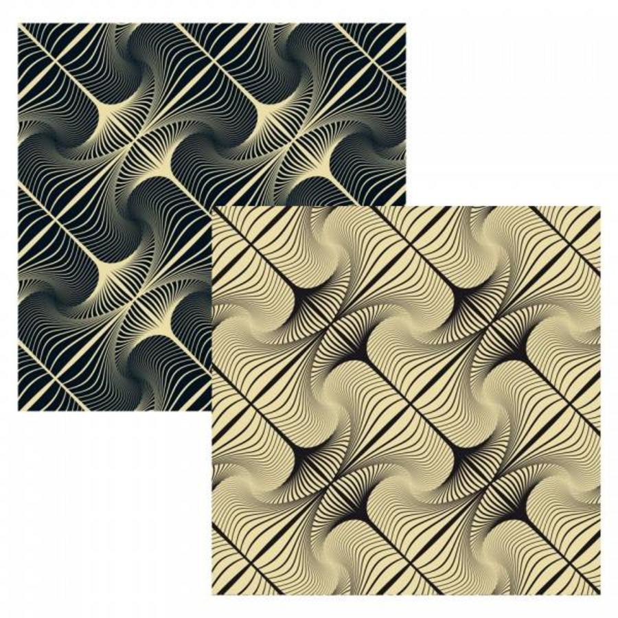 Puzzle Double Q-Glitter - Puzzle Recto-Verso en Bois - 123 pièces-4
